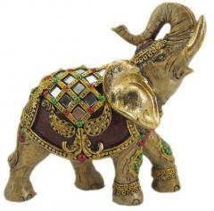 Elephant figurine made of polyurethane