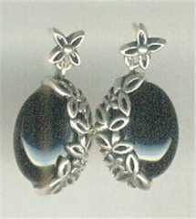 Angel Flower silver Earring