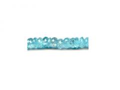 Aquamarine Button Faceted Stones