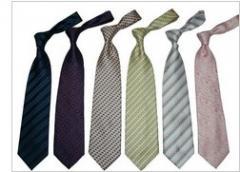 Silk Tie: MOQ: 50 Peices