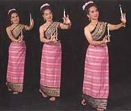 Northern Thai women's dress FN020