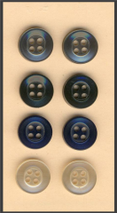 School uniform buttons