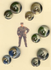 Soldier buttons