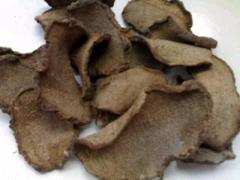 Dried Konjac root for raw material