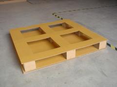 T5 Paper pallet 4 ways size 1100x1100 mm