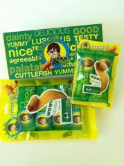 Cuttlefish snack food product made from Thailand