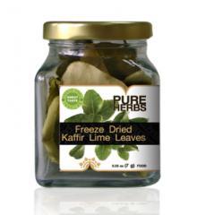 Freeze Dried Kaffir Lime Leaves