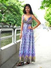 New style bohemian maxi dress from Thailand