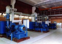 Centrifugal blower type DA firm H.