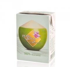 Coconut water in UHT box