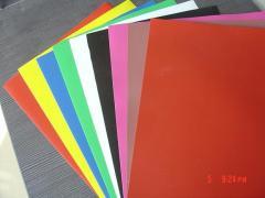 Laminated PVC plastic fabric film