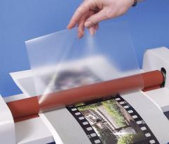 Film for hot lamination