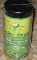 Mulberry Green Tea Herb Natural