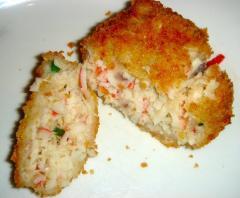 Imitation Crab Cake
