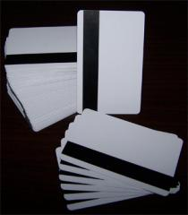 Blank PVC with Magnetic stripe