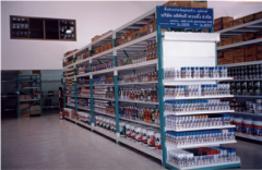 Integrated Rack / Shelving System