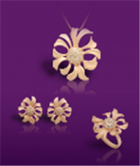 The Orchid jewelry set