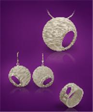 Geometric Bark jewelry