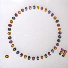 Fancy colours Sapphire Stones
