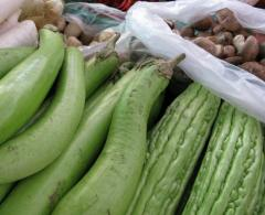 Fresh vegetables from Thailand
