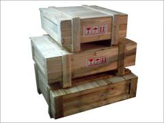 Wooden box is wooden packing