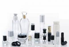 Production of packaging for cosmetics