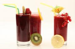 Soft drinks, fruit