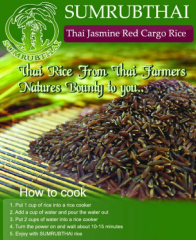 Thai Jasmine Red Cargo Rice