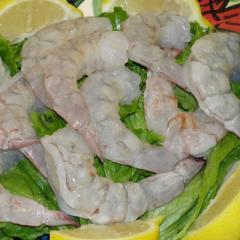 Raw Peeled Shrimp