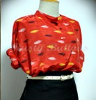 Vintage retro blouses and shirts wholesale from