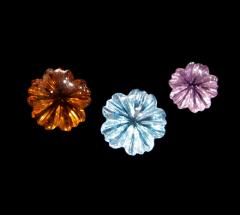 Flower Collection Semi-Precious Stone