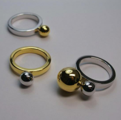 Polished Gold Rings