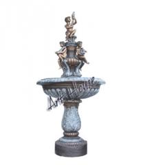 Bronze Children Bowl Fountain