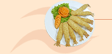 Breaded Torpedo Shrimps