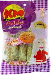 Soft sesame roll with peanut