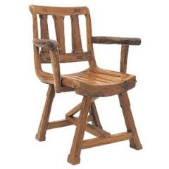 """Chair with Armrests 34"""""""