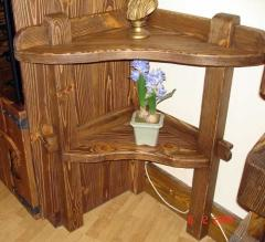 Furniture made of wood