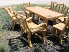 Furniture of garden park