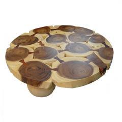 Unique Monkey Pod Coffee Table