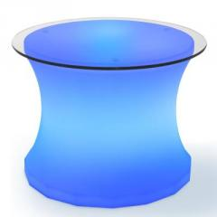 Square Led lit coffee table