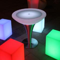Plastic Table 800R  LED
