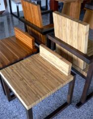 Bamboo-Jointed teak stool