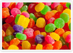 Natural Colors, Flavors, Stabilizers,