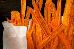 Carrot chips Thai