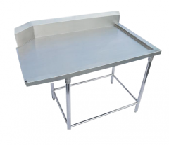 Stainless steel flat table