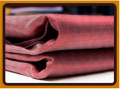 Jutted-design silk