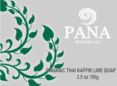 Organic thai kaffir lime soap
