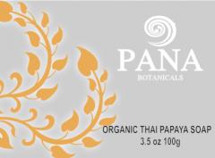 Organic thai papaya soap