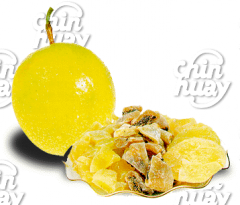 Dehydrated fruit : passion fruit