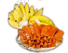 Dehydrated fruit : banana